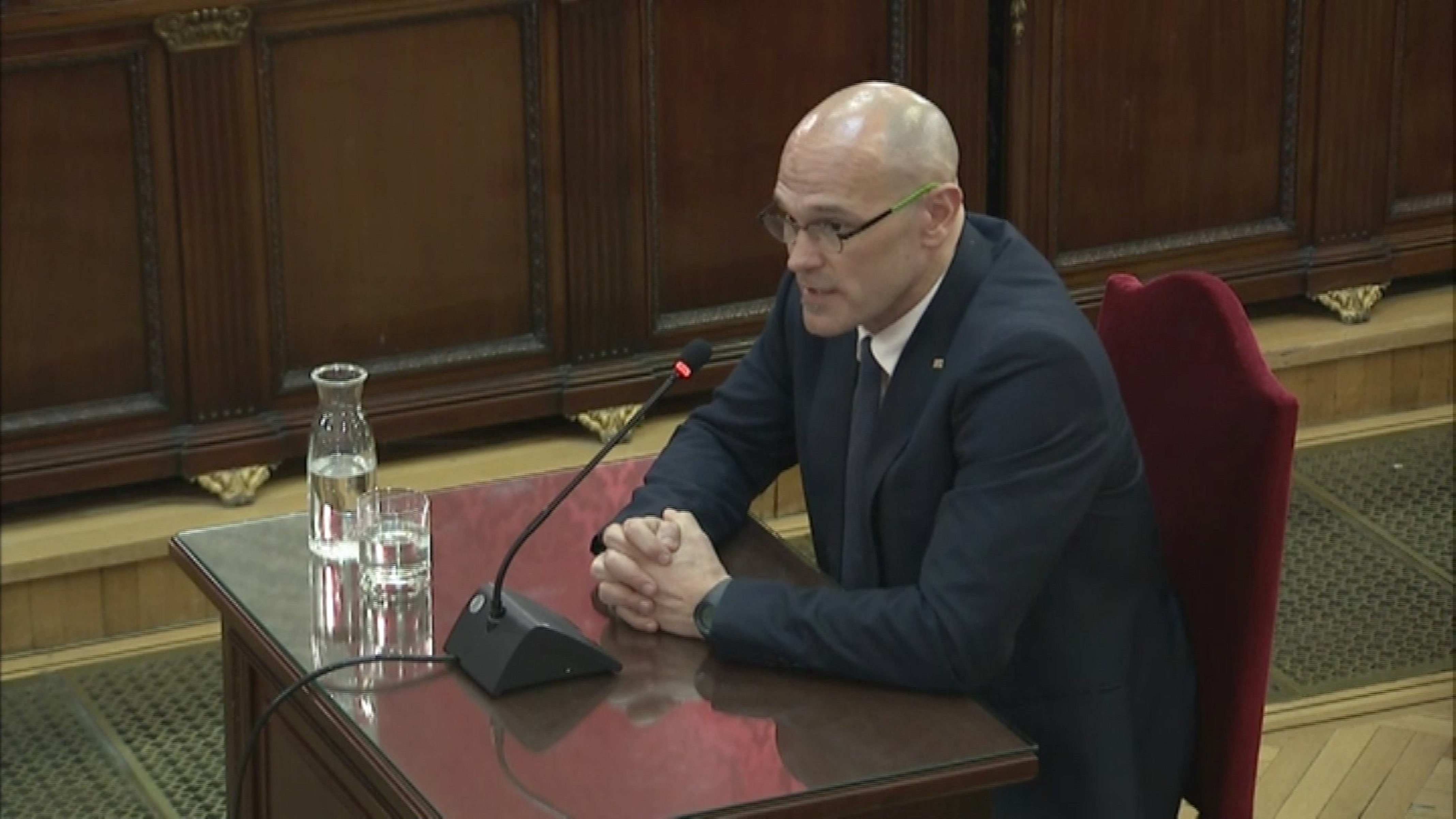 "Raül Romeva: ""Emphatically not. We've never incited any violence at all"""