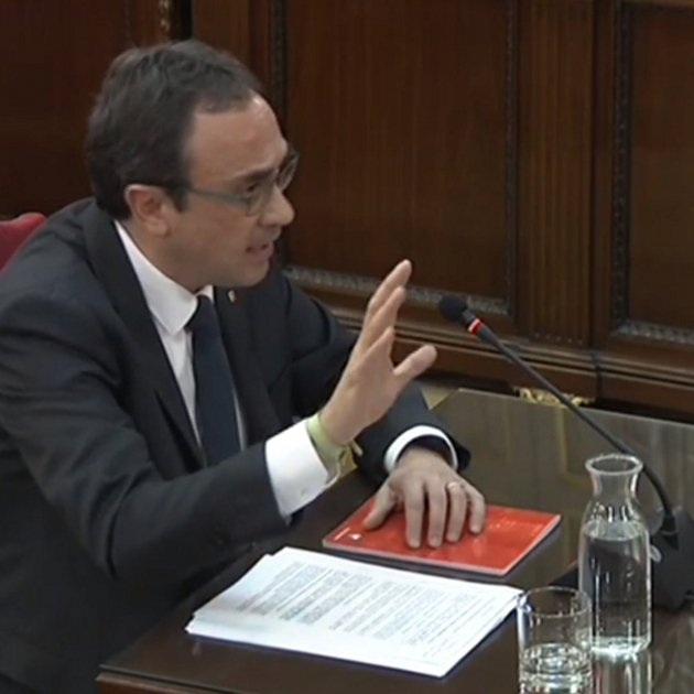 "Josep Rull: ""We exhausted all the possible paths the state gives to hold a referendum"""