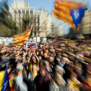International media on the Catalan strike against the independence trial