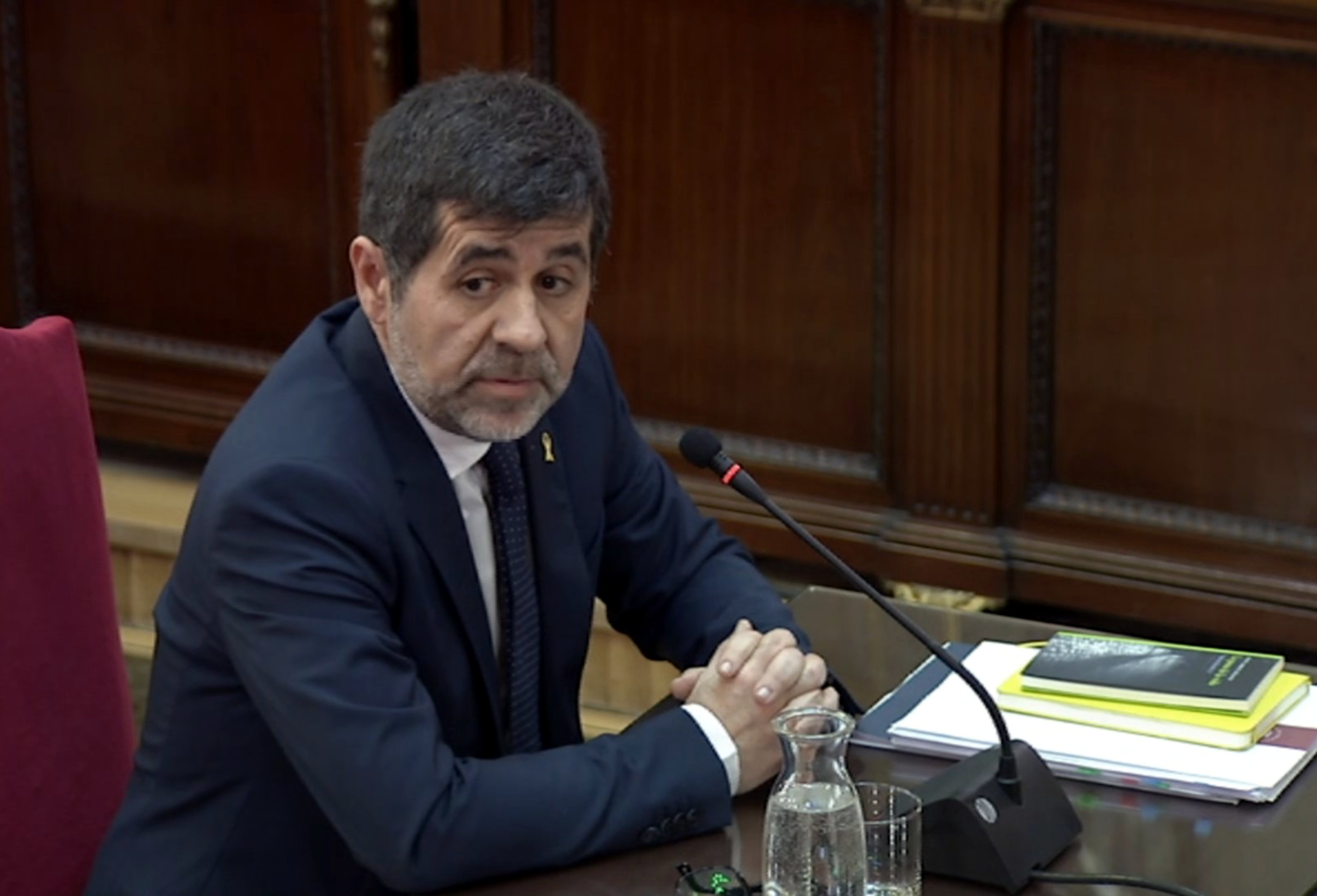 Sànchez evaluates the state of the Catalan independence trial