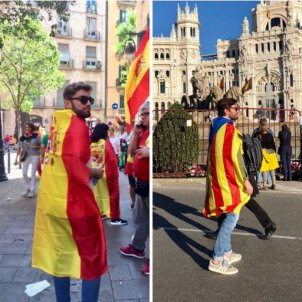 The conversion of a former pro-Spain marcher into a Catalan 'indepe'