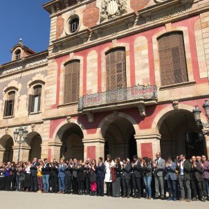 Catalan Parliament commemorates anniversary of former speaker's imprisonment