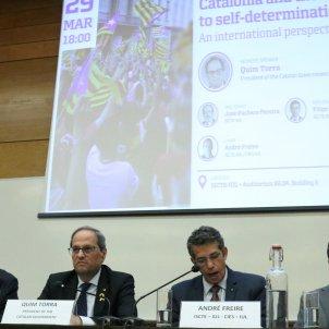 Spain mobilises its ambassador after Catalan president visits Portugal