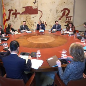 Unease in the Catalan government over president Torra's unexpected announcement
