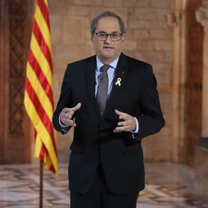 Catalan president Torra calls on the international community in English
