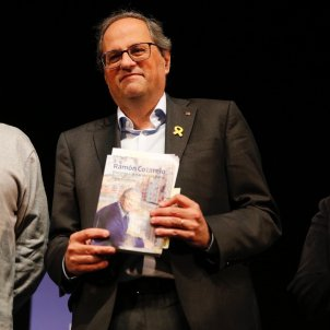 "Torra calls PSOE back to talks, demanding ""courage to return to where we left off"""