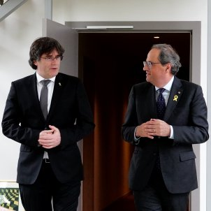 Catalan independence leaders and parties hold a surprise summit in Switzerland