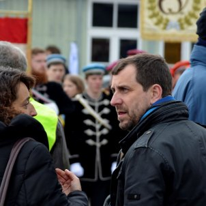 """Exiled Toni Comín attends Mauthausen homage """"representing the Catalan Republic"""""""