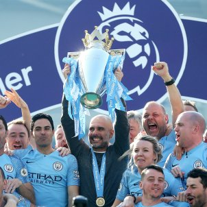 Guardiola's reign over England continues as City win back-to-back league titles