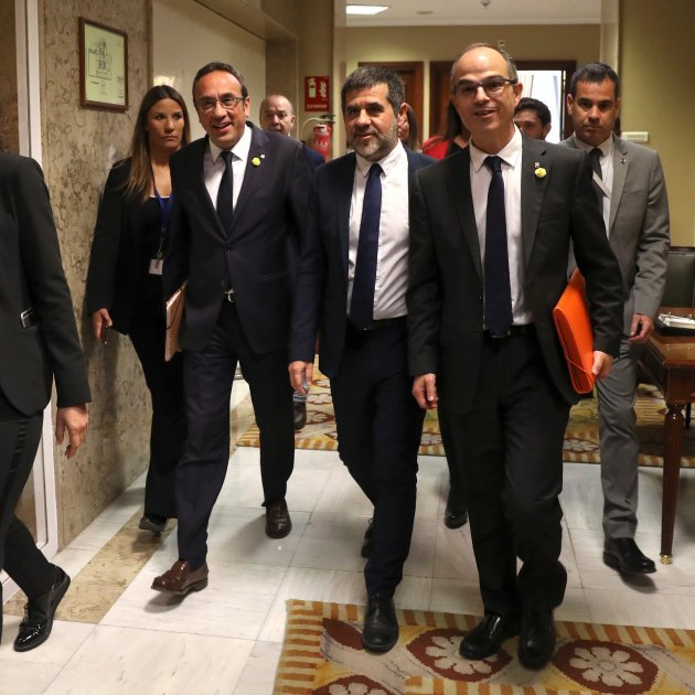 The prisoners take Catalonia's exceptional political situation into Spain's Congress