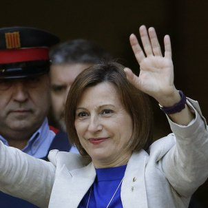 Jailed Catalan speaker Carme Forcadell, granted regular leave to care for her mother