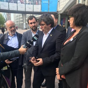 Puigdemont and Comín stopped by European Parliament from getting credentials as MEPs-elect