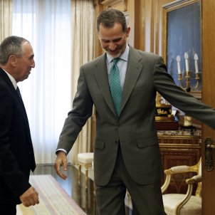 "Felipe VI hopes ""tensions will lower"" in Catalonia"