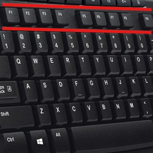 F1 to F12: What are the keyboard function keys for?