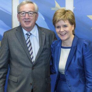 Juncker to receive Nicola Sturgeon with Scotland's second referendum in the air
