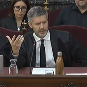 "Catalan trial lawyer Van den Eynde: ""An ideology is being persecuted"""