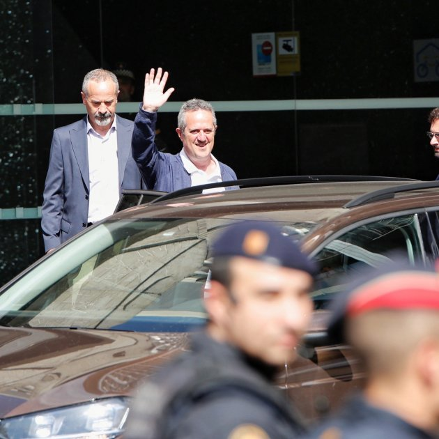 """Prosecutor's complaint: jailed Catalan leader Forn is not in """"sedition rehabilitation"""""""