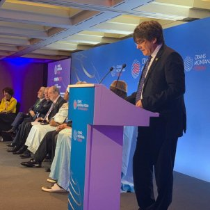 Puigdemont, in Geneva, denounces violations of MEPs rights