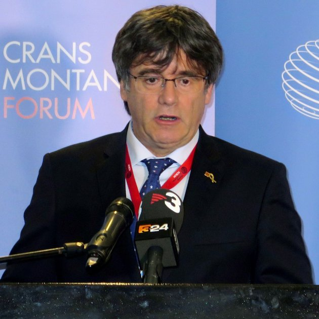Crans Montana Forum stands up to Borrell's reproach for their treatment of president Puigdemont