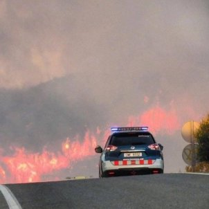 Catalonia wildfire: the most critical day