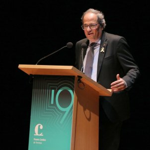 """Torra: """"I have no intention of calling elections when the trial verdict arrives"""""""