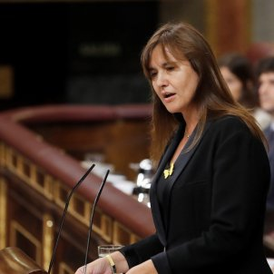 """First speech in Congress by Borràs: """"155 reasons"""" to vote against Sánchez"""