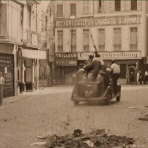France 3 TV shows unique footage of Perpignan's liberation from Nazi occupation