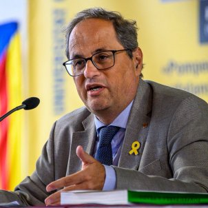 "Catalan president Torra calls for sacrifices, says independence ""will be a conquest, never a gift"""