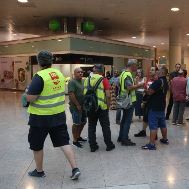 Ground staff at Barcelona airport to strike 24th, 25th, 30th and 31st August