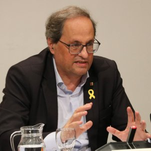 Catalan president Torra's trial over yellow ribbons to be 25th, 26th September
