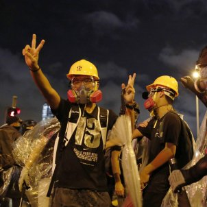 """Protests work"": Catalan independence movement looks to Hong Kong"