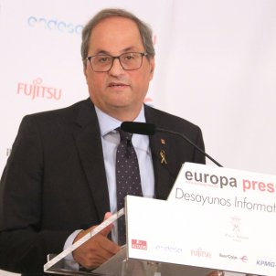 Torra in Madrid warns full acquittal is the only acceptable verdict