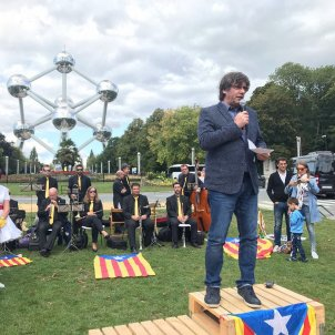 "Puigdemont calls to Catalans for ""unity as a people"", beyond party differences"