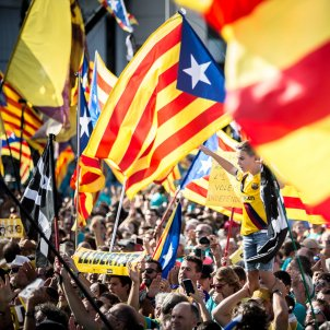 "A study refutes the theory of a ""social fracture"" in Catalonia"