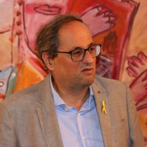 "Catalan president Torra calls for civil disobedience ""when necessary"""