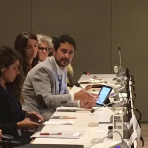 Catalan minister extols regional actions against the climate emergency at the UN