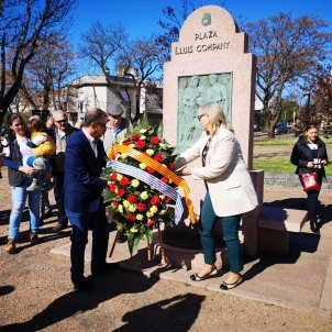 Homage to executed Catalan president Companys in Uruguay