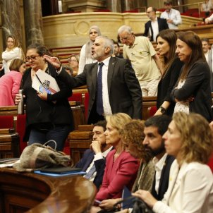 Catalan Parliament session ends in chaos after arrested activists denied bail