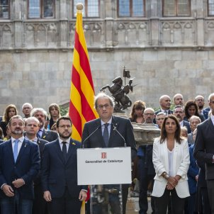 """Catalan government commits to """"advancing without excuses"""" towards the republic"""