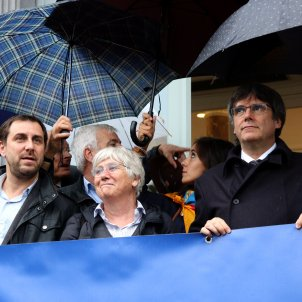 40 MEPs ask the European Parliament to protect Puigdemont, Junqueras and Comín's immunity