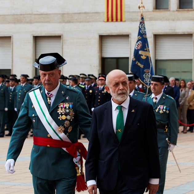 Spanish minister's showdown with Civil Guard began with sacking in January