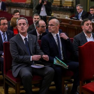 Constitutional Court rules that Supreme Court is competent in Catalan leaders' case