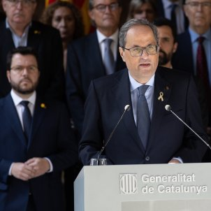 Torra calls for urgent meetings with Spanish king and acting PM Sánchez
