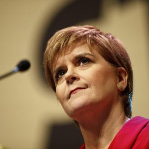 "Scottish first minister Sturgeon on the Catalan trial's ""dreadful outcome"""
