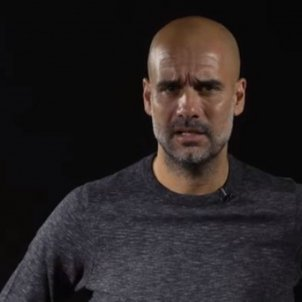 "Guardiola speaks on behalf of Catalan protest platform: ""Spain, sit down and talk"""