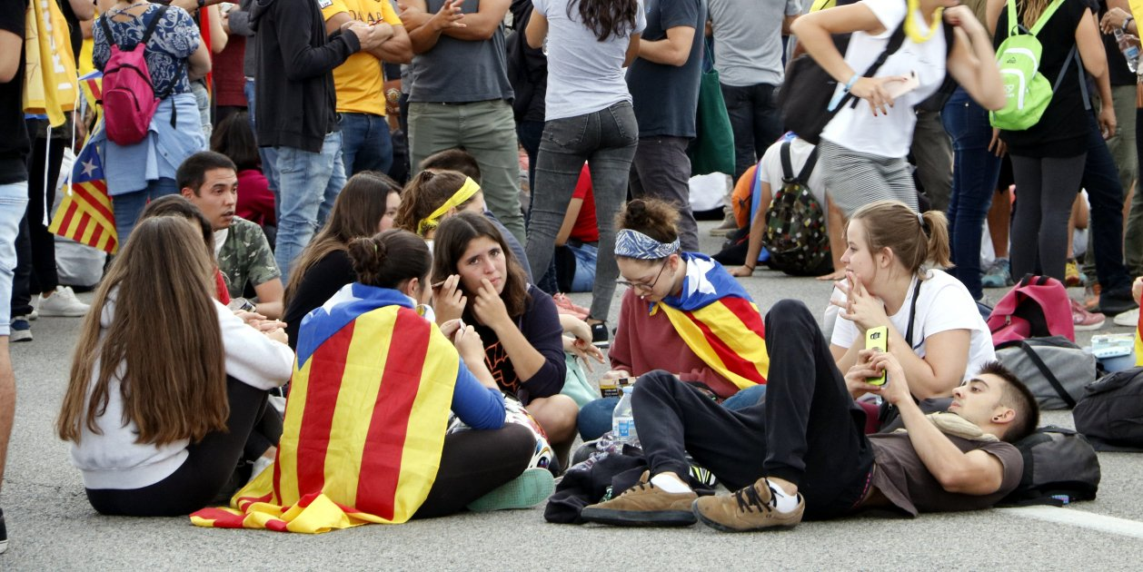 Second day of Catalan road cuts in protest at Spanish Supreme Court verdicts