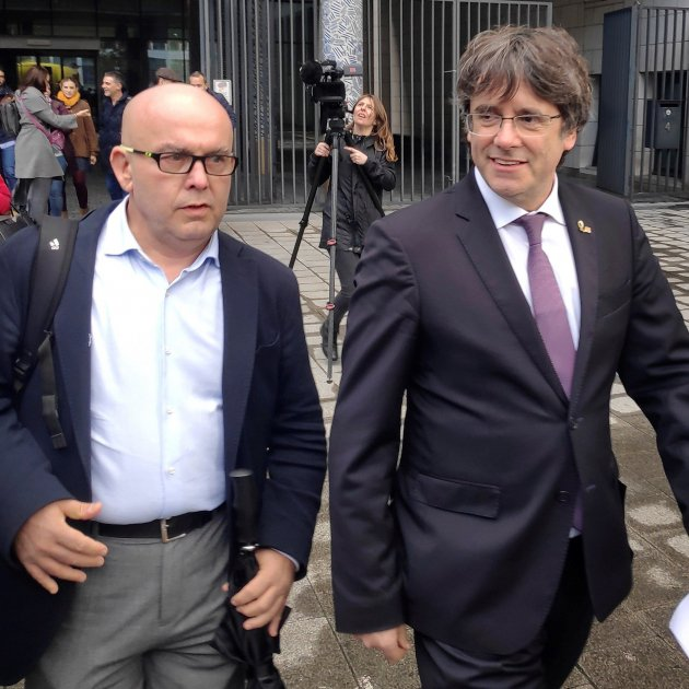 Puigdemont returns to court in key week for Catalan judicial cases in Europe