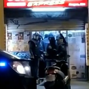 Undercover Spanish police, a CDR protest and a Barcelona supermarket