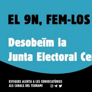 """Catalan protesters called to """"disobey"""" the pre-election """"day of reflection"""""""