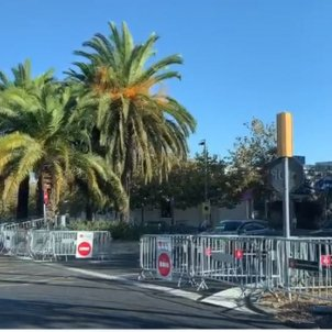 Barcelona's Diagonal, protest-proofed 24 hours before Spanish king's visit